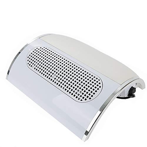 Turefans 30W, Nagelstaubsauger, staubabsaugung für nägel, 3 Fans, Fingernagel Reinigung (Nagel Staub Kollektor)