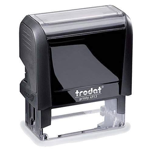 Timbro Autoinchiostrante Personalizzato mm 58X22 Completo di Personalizzazione Timbro per Medici Infermieri Timbro ad uso Ufficio