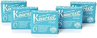 Kaweco Fountain Pen 30 ink cartridges short turquoise