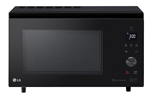 LG mj3965bib Microondas con grill Piano de trabajo 39L 1350W Negro Horno a microondas