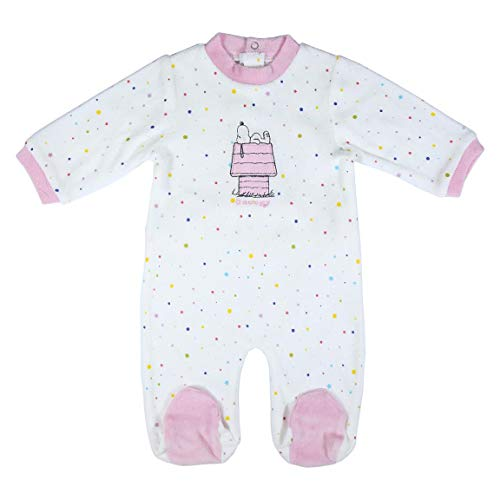 CERDÁ LIFE'S LITTLE MOMENTS 2200006141_T01M-C70 Ropa Bebé Snoopy-Licencia Oficial Peanuts, Rosa, 1...
