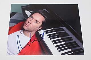 Rufus Wainwright Poses Signed Autographed 8x10 Glossy Photo Loa