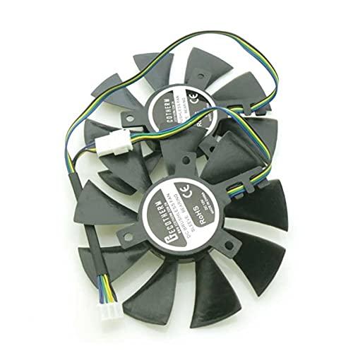 A SET DC BRUSHLESS Fan GFY09010E12SPA 85mm 4Pin For ZOTAC GTX960 GTX1060 GTX1070 Graphics Card Cooling Fan 42mm