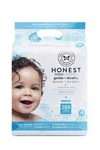 The Honest Company Honest Company Baby Wipes, Fragrance Free, Classic