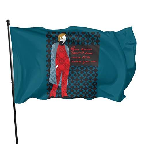 N/D Anna Karenina Cita Regalo Recuento Bandera de Vronsky 3 x 5 pulgadas