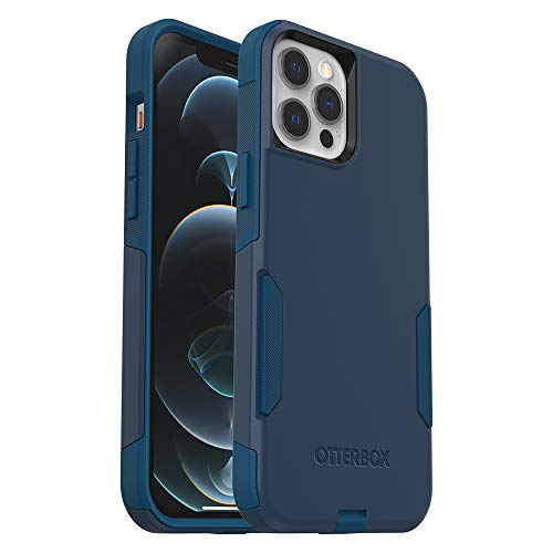 OtterBox Commuter Series Case for iPhone 12 Pro Max - Bespoke Way (Blazer Blue/Stormy Seas Blue) (77-65928)