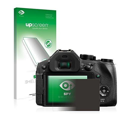 upscreen Anti-Spy Blickschutzfolie kompatibel mit Panasonic Lumix DMC-FZ300 Privacy Screen Sichtschutz Bildschirmschutz-Folie