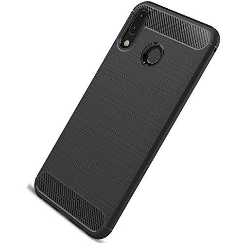 Tianqin Coque ASUS Zenfone 5Z/ZS620KL Ultra Léger Anti-Choc Anti-Choc en Silicone TPU [Anti Slip] [Résistant aux Rayures] Housse de Protection pour ASUS Zenfone 5Z/ZS620KL Shell de Protection- Noir