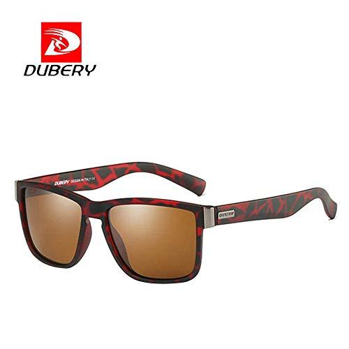 DOGZI Fahrradbrille Radbrille Sportbrille Klar, DUBERY Herren Polarized Sonnenbrillen Outdoor Fahren Männer Frauen Sportbrillen