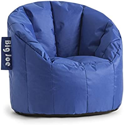 Peachy Amazon Com Big Joe Milano Bean Bag Chair Stadium Blue Beatyapartments Chair Design Images Beatyapartmentscom