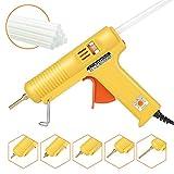 Chanseon 150 watts Industrial Hot Melt Glue Gun US Plug with 10 Pcs Glue Sticks Adjustable...