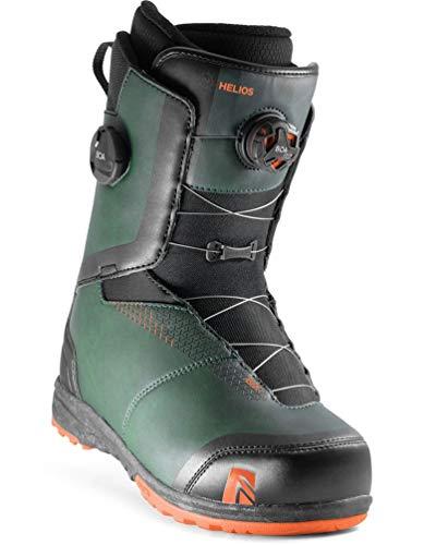 Nidecker - Boots De Snowboard Helios Boa Homme Gris - Homme - Taille 43 - Gris