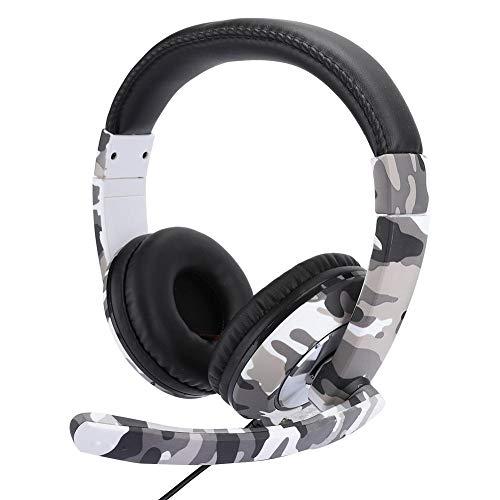 Head-Mounted-Gaming-Kopfhörer, Surround-Sound USB Competitive E-Sports-Headset mit Kabel, Audio-Controller, ergonomisches Design für überragenden Komfort, Vermeidung von Geräuschen und Spielkomfort