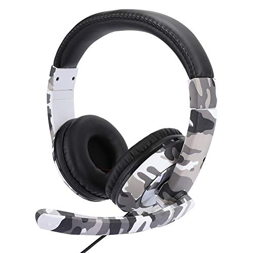 Head-Mounted Gaming Headphone, Game Console Headset Ergonomics Phone Computer Gaming Headphone with Microphone Headset for PS4
