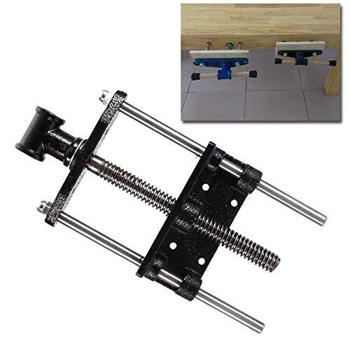 WXH Hochleistungsschnellspanner für die Front, 9- / 13-Zoll-Holzschraubstock, Holzbearbeitungstischzange, Klemmschraubstock, Klemmvorrichtung, Pleuelstange