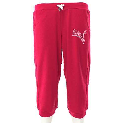 PUMA Fun ESS 3/4 Sweat Pants 832348 01 Kinder Jogginghose 140