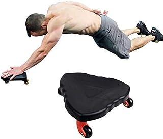 YANGSANJIN Ab Roller Coaster buken träningsplatta muskel träning hjul buken ab roller fitness abs rullar hem gym utrustnin...