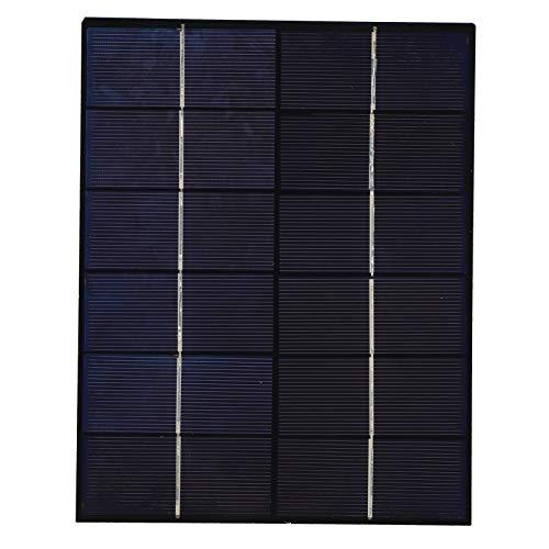 Weikeya Panel solar, 5,2 W, 21 x 16,5 cm, panel solar plegable para la carga del juguete solar de la batería de la luz CC