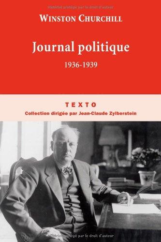 Journal politique : 1936-1939