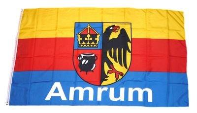 Fahne / Flagge Insel Amrum NEU 90 x 150 cm Flaggen