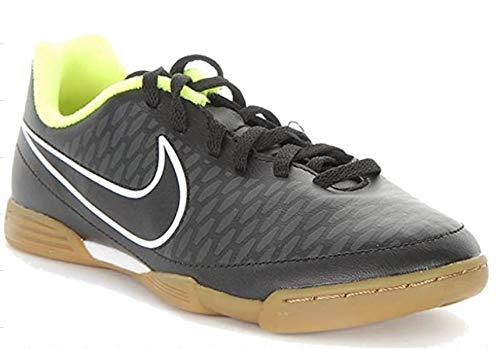 Nike Unisex-Kinder Jr. Magista Ola IC Fußballschuhe, Schwarz (Black/Chrome-Volt 017), 38.5 EU