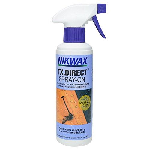 Nikwax TX Direct Imperméable 0,3 Spray-on – Blanc