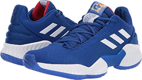 adidas Mens Pro Bounce 2018 Low Basketball Sneakers Shoes Casual - Blue - Size 13 D