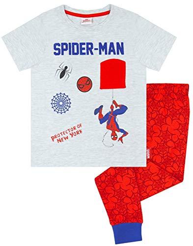 Marvel Spider-Man Niños Largos de los Pijamas