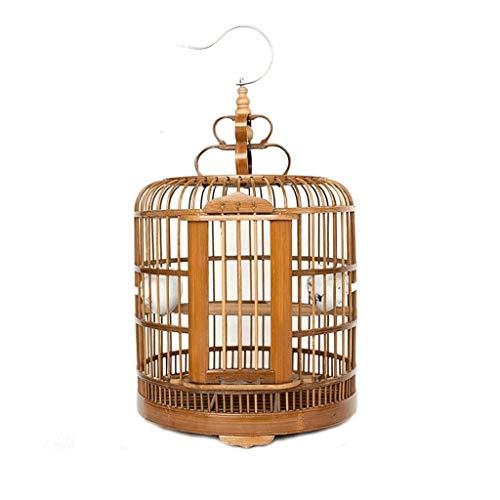 xiaokeai Jaula de Loros El Animal doméstico Creativo Jaula de pájaros del Loro Canario suministra el diámetro los 33cm Jaula de pájaros