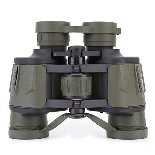 WYLDDP 8 X 40 mm Jumelles Toit Imperméable Haute Définition Générique Multi-traitées BAK4 Plastique Caoutchouc Métal/Chasse/Observation d'oiseaux/Vision Nocturne,Vert