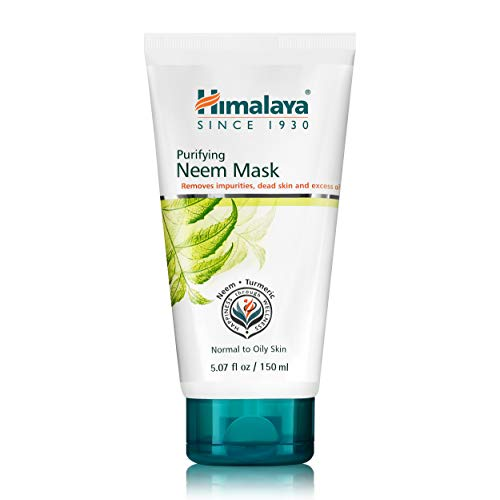 Himalaya Purifying Neem Mask for Deep Cleaning, to Reduce Acne & Leave a Clean, Clear Complexion, 5.07 oz