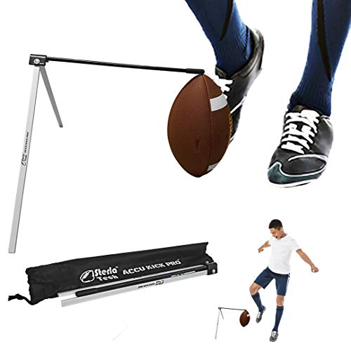 SterlaTech Football Kicking Holder Field Goal Kicking Holder Works with All Footballs and Sizes - Field Goal Kicking Holder – Football Tee - Accu Kick Pro