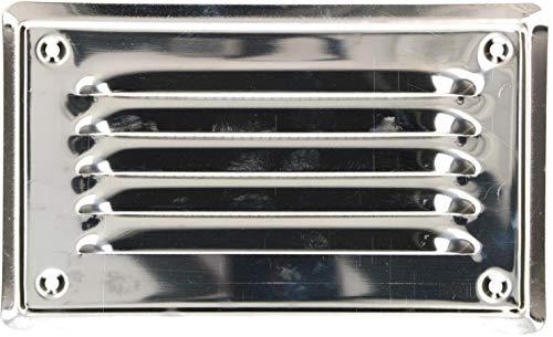 KOTARBAU Lüftungsgitter 16,5x16,5 cm Edelstahl Abluftgitter für Kamin Belüftung