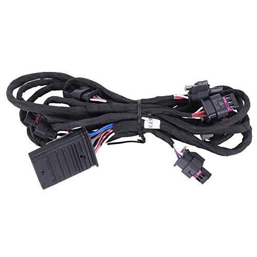 Sonline ArnéS de Cableado del Sensor de Aparcamiento del Parachoques Delantero del Coche Cable PDC Apto para Mercedes Clase C W204 A2044400035