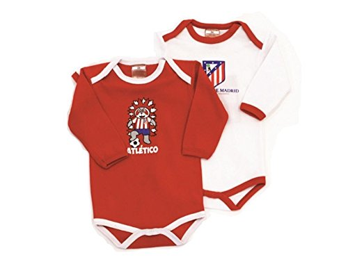 Atletico de Madrid pack 2 bodies talla 18
