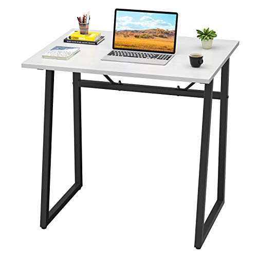 Homfio Computer Desk 236'' Modern Simple Study Desk Student Desk PC Laptop Notebook Writing Table for Home Office Workstation Small Reading Desk for Space Saving