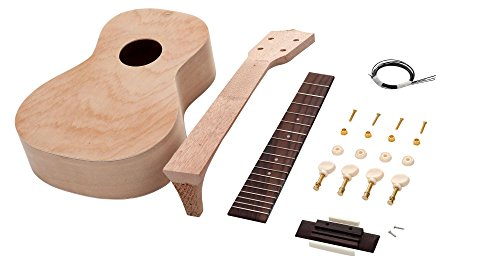 Classic Cantabile UC-240 Konzert Ukulele Bausatz (Do-it-Yourself, DIY, Lindenholz, Uke selbst bauen)