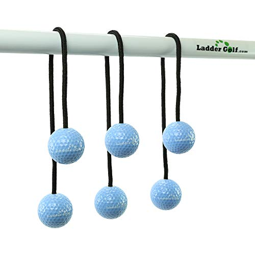 Ladder Golf Official Bolas (Hard), 3PK (Light Blue)