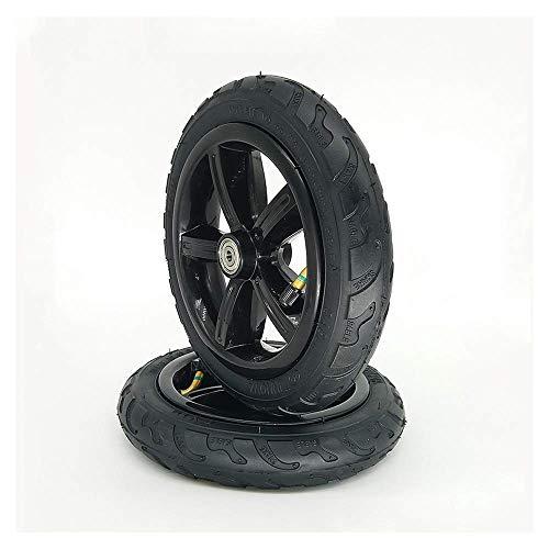 HZWDD Ruedas Antideslizantes de 8 Pulgadas 8X1 1/4, adecuadas para neumáticos sólidos a Prueba de explosiones y neumáticos para cochecitos/Scooters eléctricos