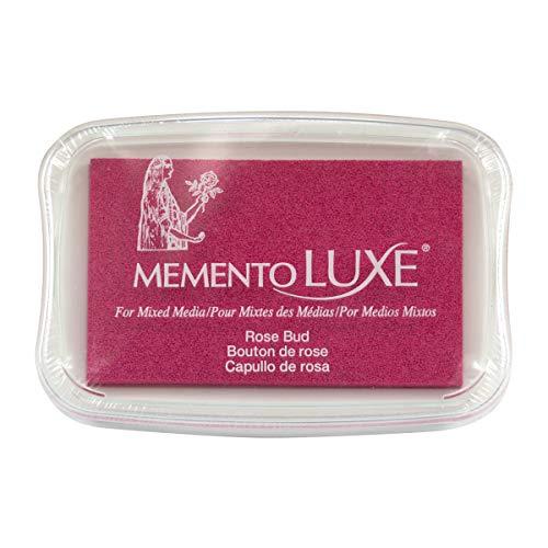 Tsukineko Memento Luxe Mixed Media Inkpad, Rose Bud