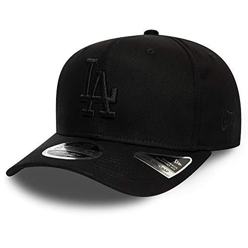 New Era Tonal Stretch 9Fifty Snapback Cap LA Dodgers Schwarz Schwarz, Size:S/M