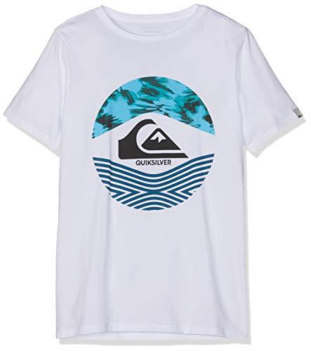 Quiksilver Stomped On Camiseta, Niños, Blanco (White), M