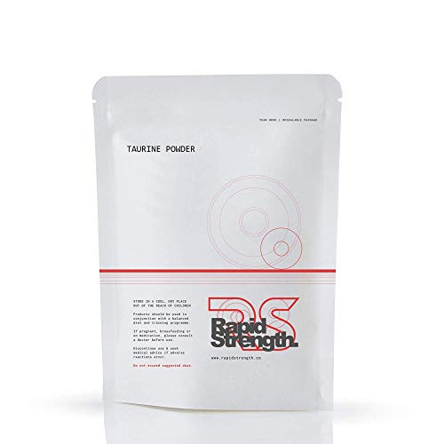 Taurine Powder Energy Supplement 100g Rapid Strength