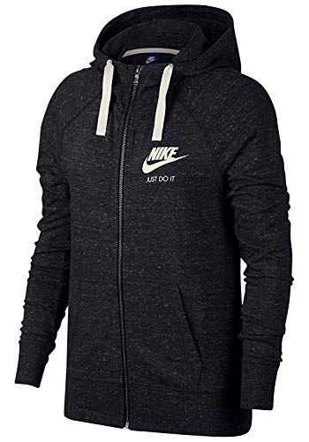 Nike Women's Sportswear Hoodie Black/Sail Size Medium