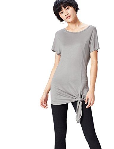 Marca Amazon - find. Camiseta Ancha con Cuello Redondo Mujer