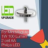 Mini MagLite LED Conversión Actualizar Bombilla Para Linternas 2AA Cell LED