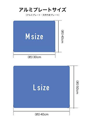シービージャパンアルミすのこバンブー40×50cm熱中症対策クールマット