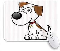ゲームマウスパッドカスタム、動物の子供のようなダルメシアンかわいいペットむら犬、オフィスパーソナライズされたデザイン滑り止めゴムマウスパッド9.5 X 7.9インチ