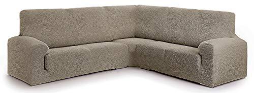 Funda para sofá rinconero Hecho de Tejido Adaptable Spongy tamaño Extra (hasta 600 cm) - Color 11