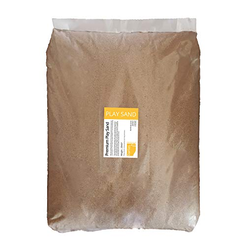 Childrens Play Sand | 25KG BAG | For kids play sand pits - Dry, Non staining Non toxic, Clean graded sand